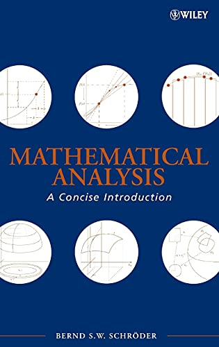 9780470107966: Mathematical Analysis: A Concise Introduction