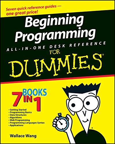 9780470108543: Beginning Programming All-In-One Desk Reference For Dummies