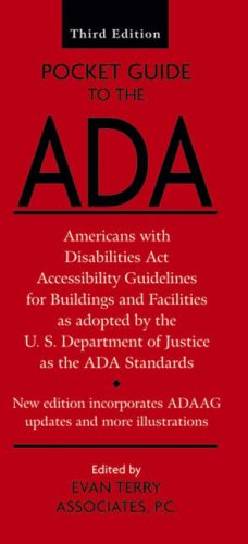 9780470108703: Pocket Guide to the ADA: Americans with Disabilities Act Accessibility Guidelines for Buildings and Facilities