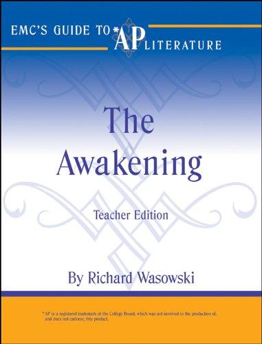 9780470109205: EMC's Guide to AP Literature - The Awakening (CliffsAP)