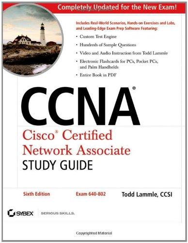 9780470110089: CCNA: Cisco Certified Network Associate Study Guide: Exam 640-802