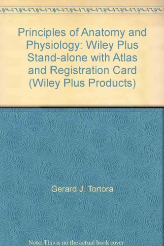 9780470111116: Principles of Anatomy and Physiology: Wiley Plus ...