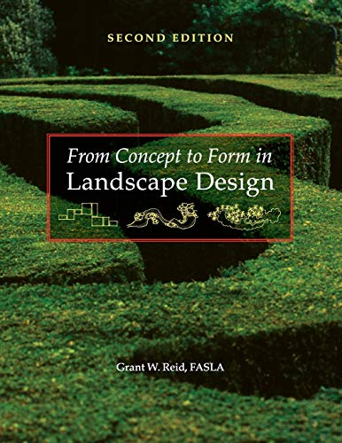 9780470112311: From Concept to Form in Landscape Design