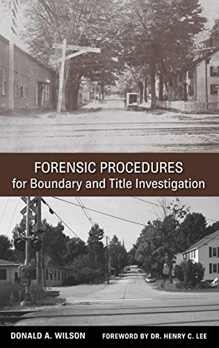 9780470113691: Forensic Procedures for Boundary and Title Investigation