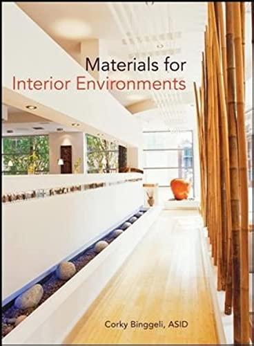 9780470114285: Materials for Interior Environments