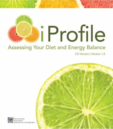 9780470114315: iProfile: Assessing your Diet and Energy Balance CD-ROM 1.0