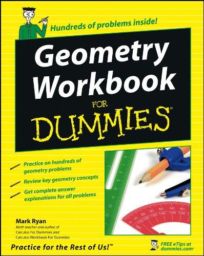 9780470115213: Geometry Workbook for Dummies