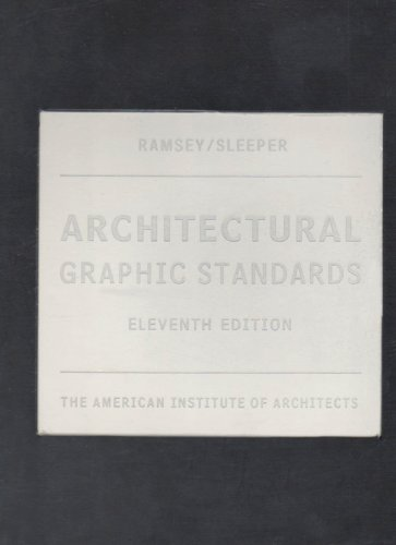 9780470115251: Architecture Graphic Standards