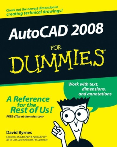 9780470116500: AutoCAD 2008 For Dummies