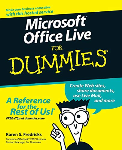 9780470116586: Microsoft Office Live For Dummies
