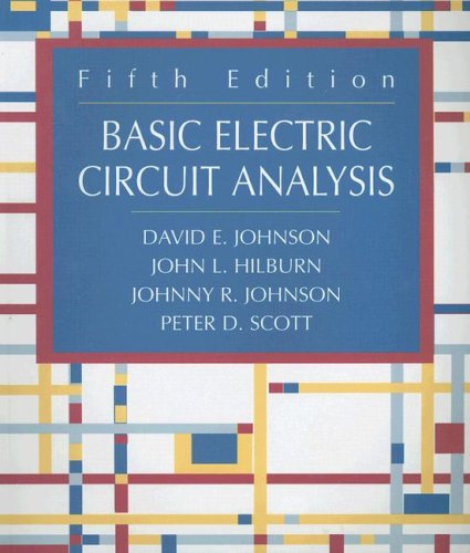 9780470117255: Basic Electric Circuit Analysis