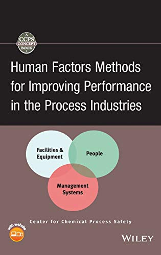 9780470117545: Human Factors Methods for Improving Performance in the Process Industries