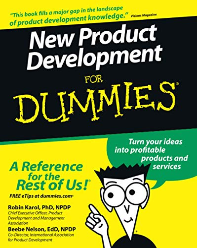 9780470117705: New Product Development For Dummies