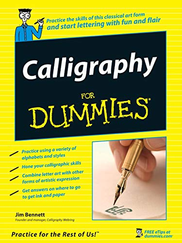 9780470117712: Calligraphy for Dummies