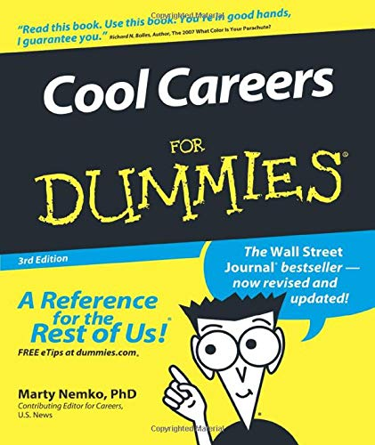 9780470117743: Cool Careers For Dummies
