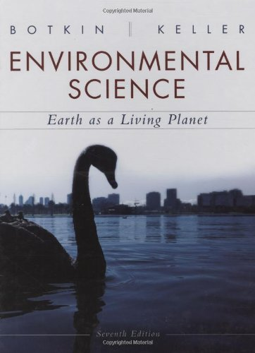 9780470118559: Environmental Science Earth as a Living Planet