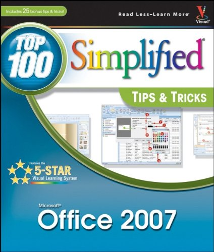 9780470118702: Office 2007: Top 100 Simplified Tips and Tricks