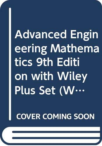 9780470119167: Advanced Engineering Mathematics: WITH Wiley Plus (Wiley Plus Products)