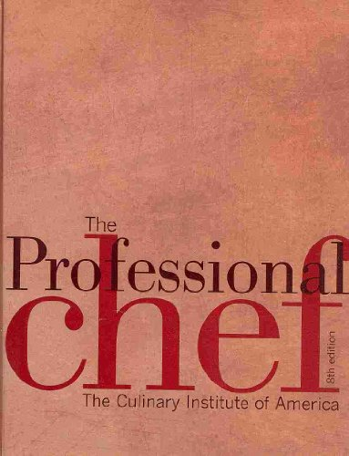 9780470119402: The Professional Chef 8th Edition with Student Study Guide Set