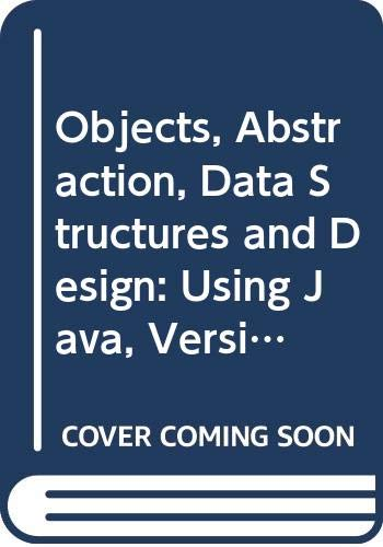 9780470120200: Objects, Abstraction, Data Structures and Design: Using Java, Version 5.0 Wiley Plus Set