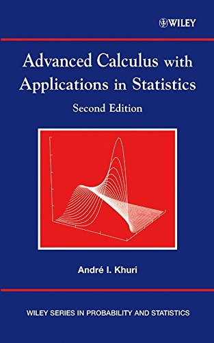 9780470120699: Advanced Calculus With Applications in Statistics