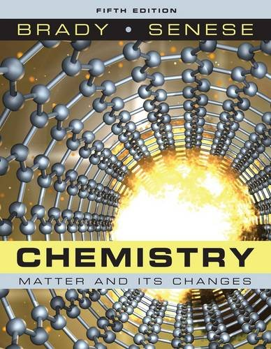 9780470120941: Chemistry: Matter and Its Changes
