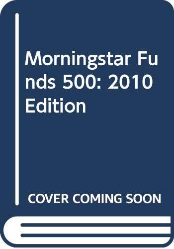 9780470121238: Morningstar Funds 500