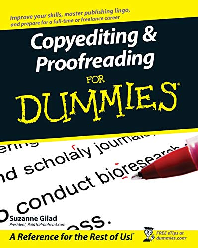 9780470121719: Copyediting & Proofreading for Dummies