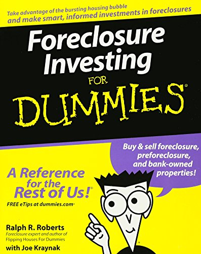 9780470122181: Foreclosure Investing for Dummies