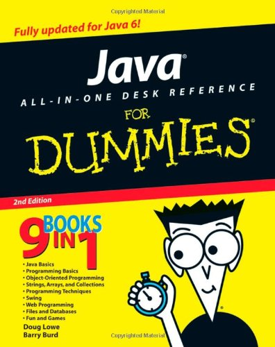 9780470124512: Java All-In-One Desk Reference For Dummies