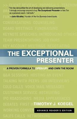 9780470125038: The Exceptional Presenter