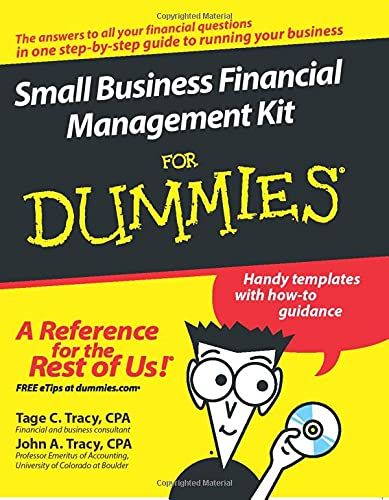 9780470125083: Small Business Financial Management Kit For Dummies