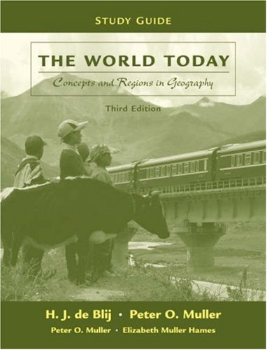 9780470125335: The World Today, Study Guide: Concepts and Regions in Geography