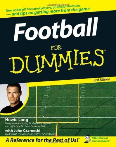 9780470125366: Football For Dummies, (USA Edition)