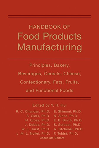 9780470125564: Handbook of Food Products Manufacturing: Principles, Bakery, Beverages, Cereals, Cheese, Confectionary, Fats, Fruits, and Functional Foods