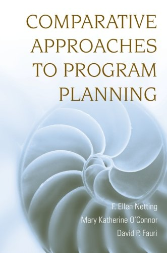 9780470126417: Comparative Approaches to Program Planning