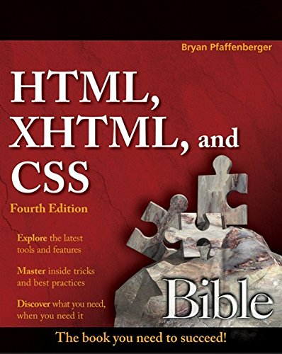 9780470128619: HTML, XHTML, and CSS Bible