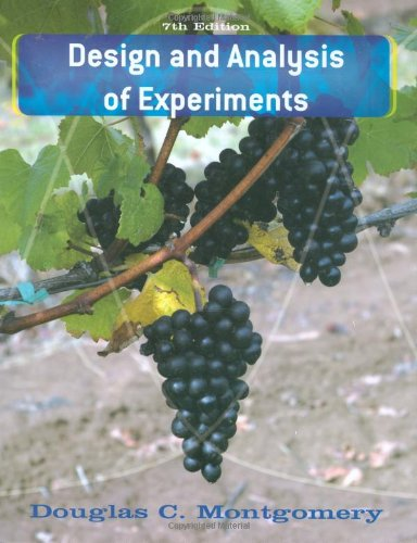 9780470128664: Design and Analysis of Experiments