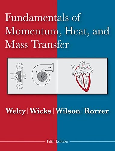 9780470128688: Fundamentals of Momentum, Heat and Mass Transfer