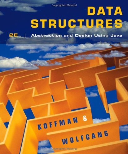 9780470128701: Data Structures: Abstraction and Design Using Java