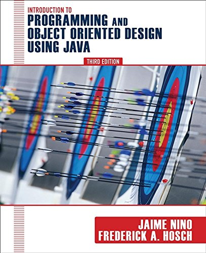 9780470128718: An Introduction to Programming and Object-Oriented Design Using Java