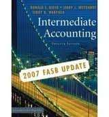 9780470128770: Intermediate Accounting, 12th Edition - 2007 FASB Update