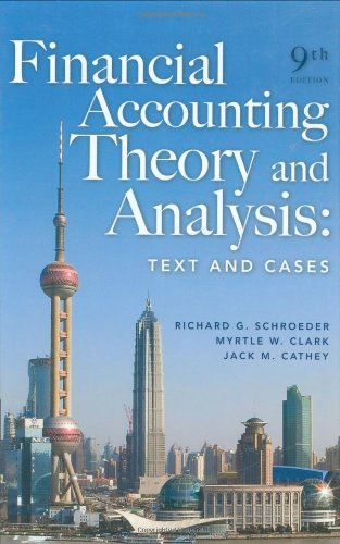 9780470128817: Financial Accounting Theory and Analysis: Text and Cases