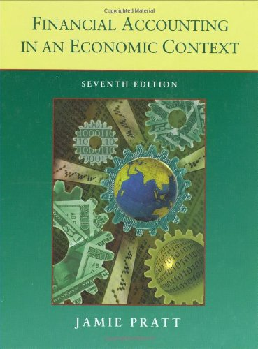 Financial Accounting in an Economic Context (9780470128824) by Pratt, Jamie