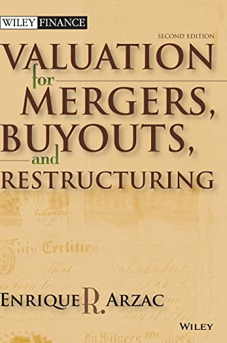 9780470128893: Valuation: Mergers, Buyouts and Restructuring