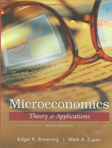 9780470128916: Microeconomics: Theory and Applications