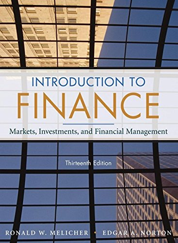 Introduction to Finance: Markets, Investments, and Financial: Norton, Edgar A.,