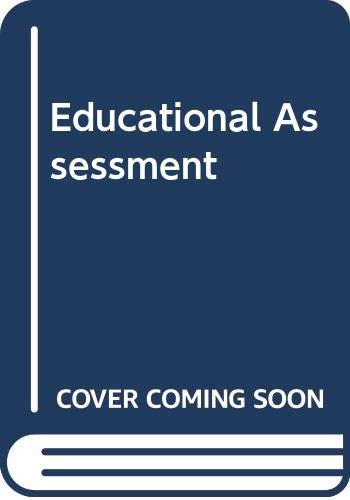 9780470129081: Educational Assessment