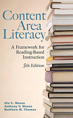 9780470129098: Content Area Literacy: A Framework for Reading-Based Instruction, 5th Edition