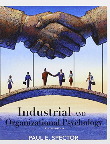 9780470129180: Industrial and Organizational Psychology: Research and Practice